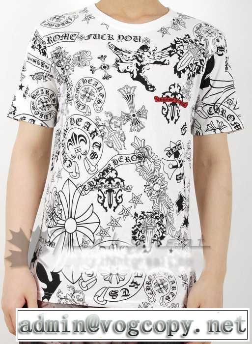 SALE!今季2014春夏 chrome hearts クロムハーツ 半袖 tシャツ