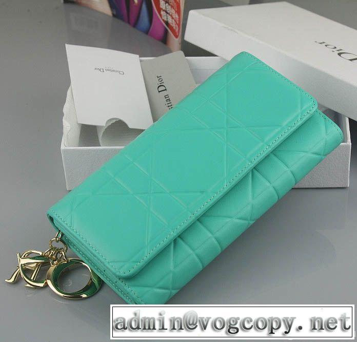 2014 美品 dior ディオール レディース長財布