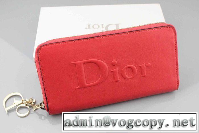 2014 超人気美品◆ dior ディオール レディース長財布