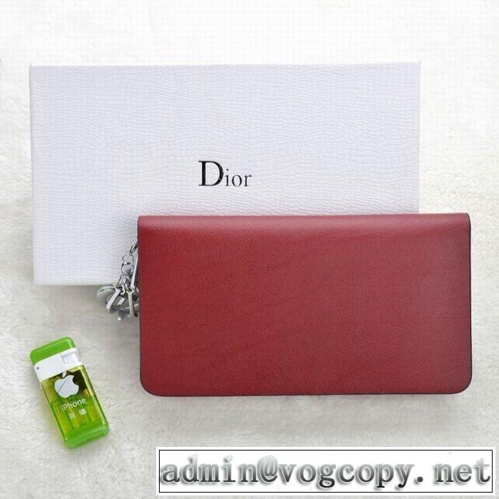 2014 dior ディオール 存在感◎ レディース財布