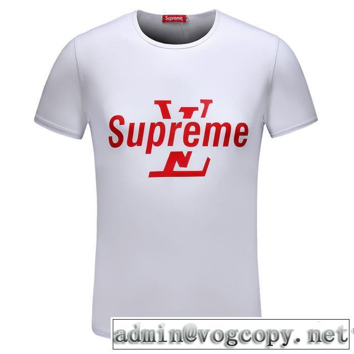 細身のシルエット 2018春夏新作 半袖Tシャツ シュプリーム SUPREME 2色可選 最安値!