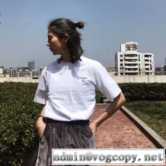 上品でファッション 半袖Tシャツ シュプリーム SUPREME 2色可選 2018春夏新作