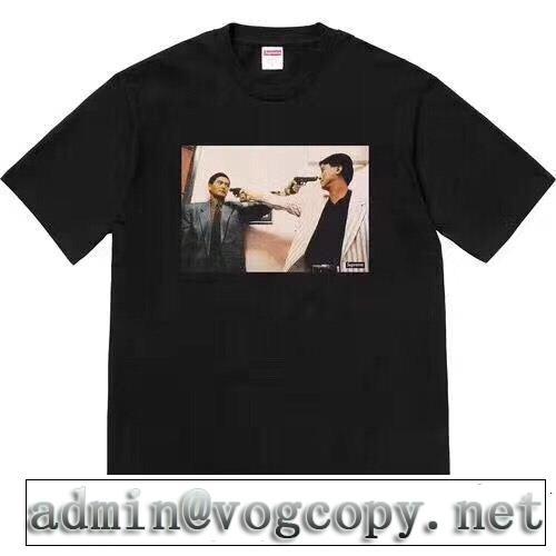 2色可選 Supreme 18Fw The Killer Trust Tee  流行の注目ブランド SUPREME シュプリーム 半袖Tシャツ
