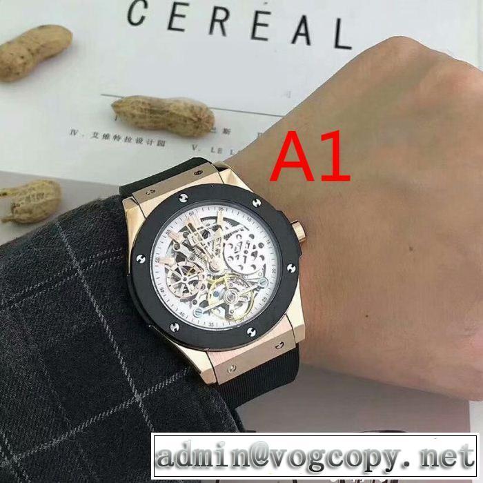 今季爆発的な人気 男性用腕時計 ウブロ HUBLOT 多色可選 最終数量限り! 自動巻き  ムーブメント
