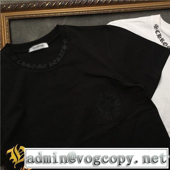 2019年の春夏に着たい る春夏おすすめの人気商品 クロムハーツ CHROME HEARTS 半袖Tシャツ 2色可選 男女兼用