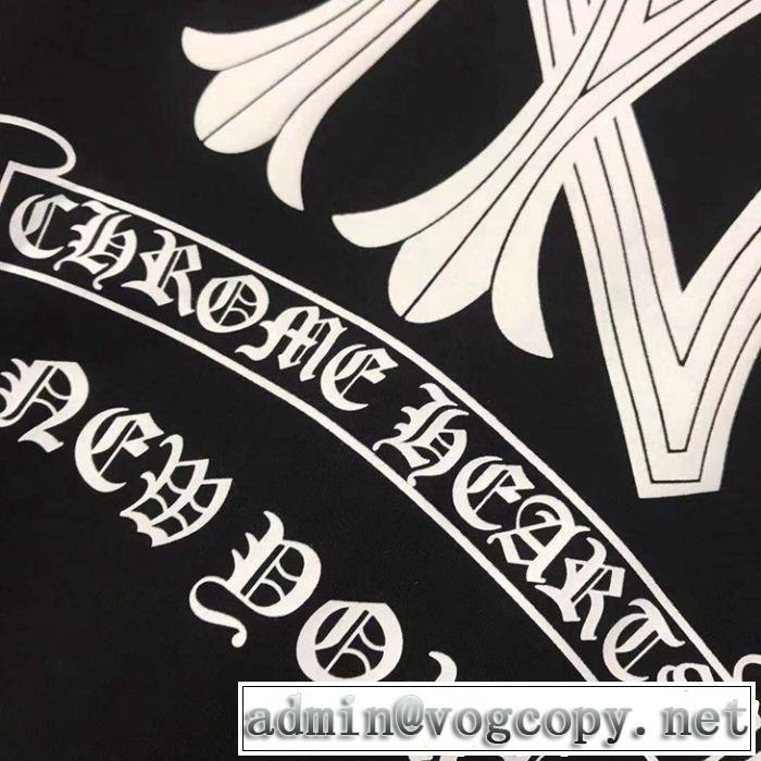 2色可選夏キレ味をプラス クロムハーツ 半袖TシャツCHROME HEARTS 【2019春夏】最新コレクション