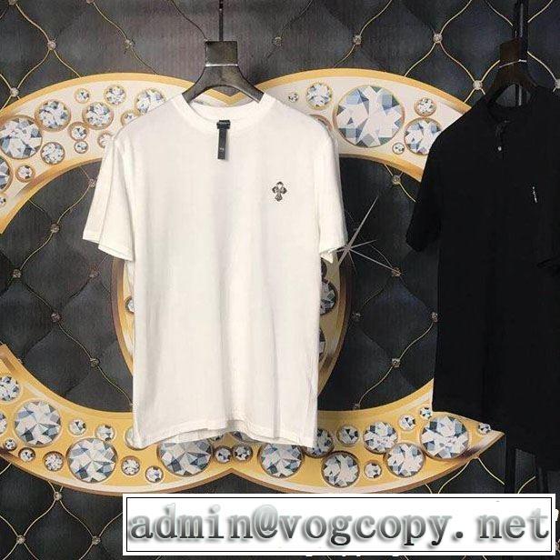 クロムハーツ半袖Tシャツまずは定番!人気アイテム 2色可選CHROME HEARTS 2019SSのトレンド商品