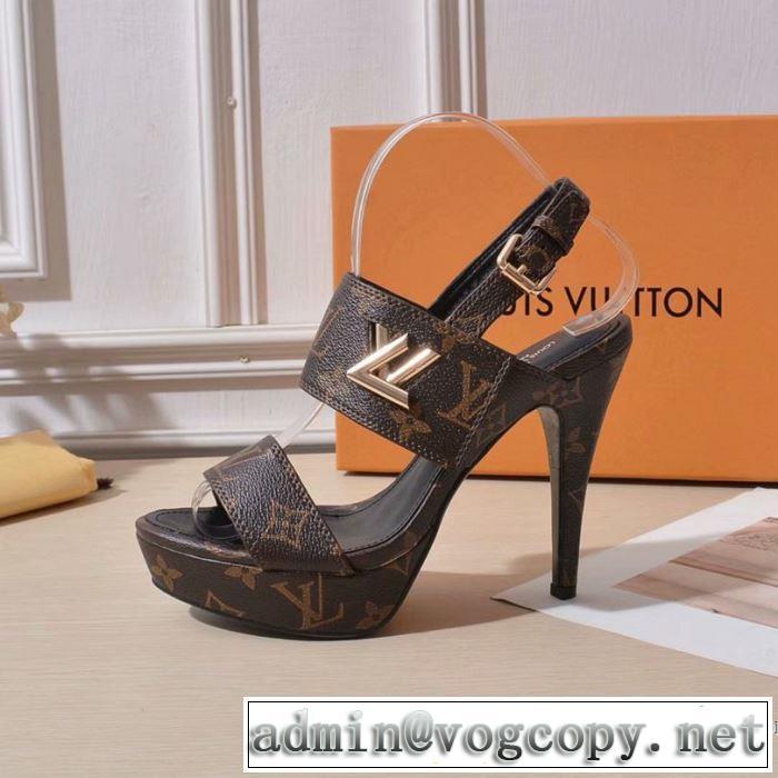 季節感をプラス人気商品 2019夏ファション新品 ルイ ヴィトン LOUIS VUITTON サンダル 2色可選
