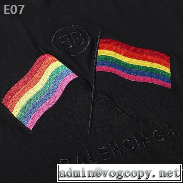 ぐっと鮮度がアップ Tシャツ/ティーシャツ こなれ感を引き立たせ バレンシアガ BALENCIAGA 2色可選