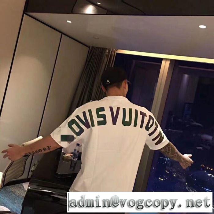 LOUIS VUITTON トレンドアイテムとして継続 Tシャツ/半袖  2色可選  ルイ ヴィトン2019年春夏シーズンの人気