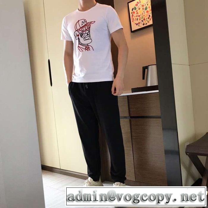 MONCLER モンクレール 半袖Tシャツ 最近のトレンドアイテム  大人カジュアル夏ファッション2019