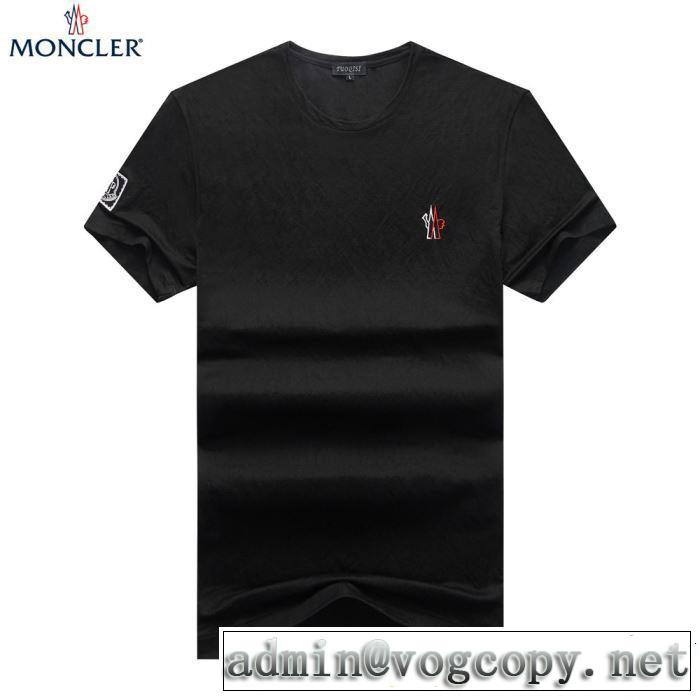 【2019年】夏のファッション 高級感が好評です モンクレール MONCLER Tシャツ/ティーシャツ 2色可選