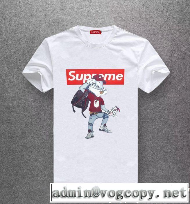 2019SSのトレンド商品 ぐっと鮮度がアップ シュプリーム SUPREME 半袖Tシャツ 多色可選