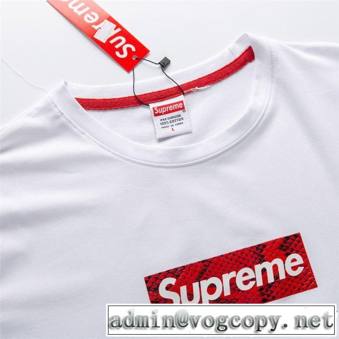 シュプリーム SUPREME 半袖Tシャツ 4色可選 2019春夏のトレンド新商品 スタイルを綺麗に