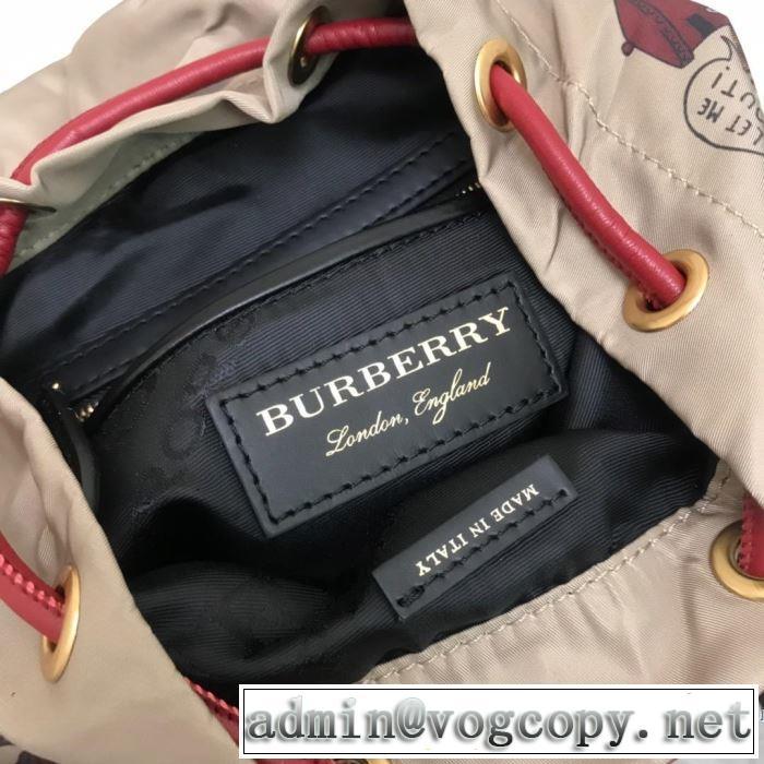 夏っぽさ新作アイテム リュック 着るだけで上品なスタイル バーバリー BURBERRY 最も目立ったブランド新品 2色選択可