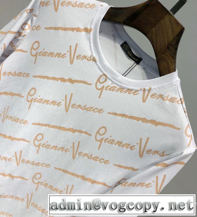 ヴェルサーチ VERSACE 長袖Tシャツ 2色可選 今期注目のブランドトレンド 2019SSのトレンド商品