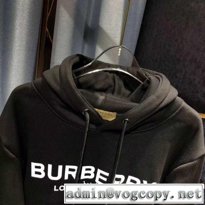 2色可選 プルオーバーパーカー 2019トレンドファッション新品 秋冬もちろん主役級 バーバリー BURBERRY