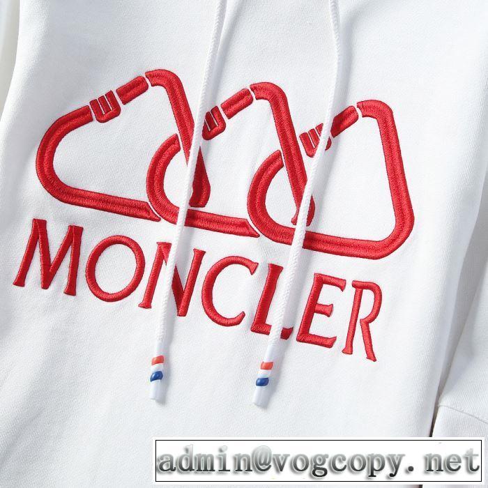 パーカー 3色可選 モンクレール MONCLER 2019年最新ファッション まずは定番!人気アイテム