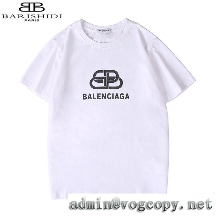 20新作です 2色可選 バレンシアガ BALENCIAGA 半袖Tシャツファッショニスタを中心に新品が非常に人気