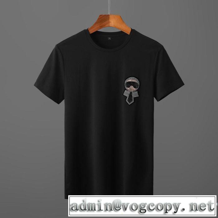お値段もお求めやすい 半袖Tシャツ やはり人気ブランド フェンディ FENDI