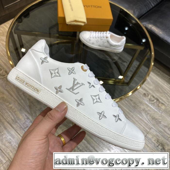 海外でも人気なブランド 2色可選 スニーカー 幅広いアイテムを展開 ルイ ヴィトン LOUIS VUITTON