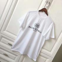 スタイルアップ効果 半袖Tシャツ バレンシアガ BALENCIAGA 2017 首胸ロゴ