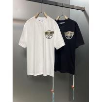 2021年激安Off-White オフホワイト半袖 Tシャツスーパーコピー パーソナライズアローレターロゴ 男女適用 黒白