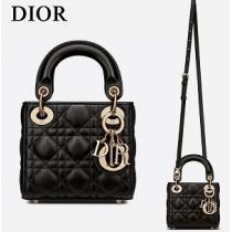 最高品質Dior コピーディオール Lady Dior マイクロバッグ芸能人愛用2021流行りトレンドエレガントな人気商品