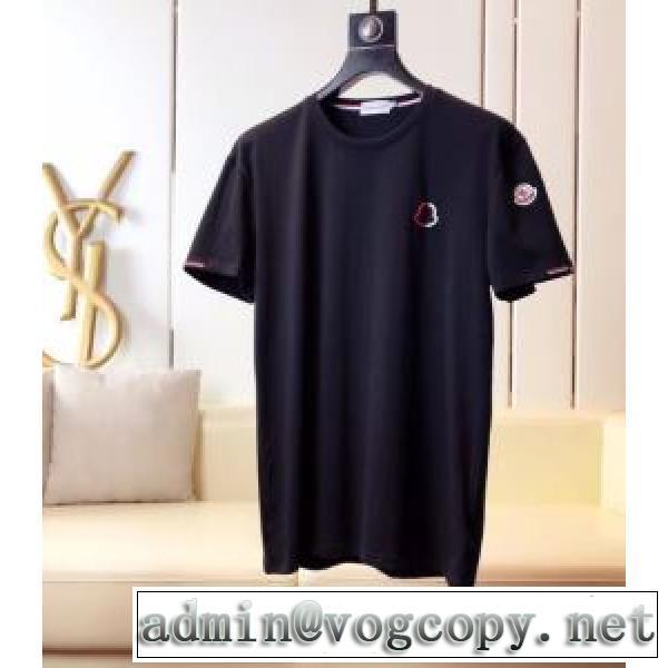 2020年春夏コレクション 半袖Tシャツ 2色可選 注目されている モンクレール MONCLER 注目度が上昇中vogcopy.net sn:WDiueu-2