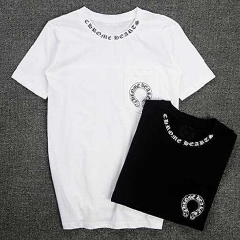 目玉商品 2016春夏 クロムハーツ CHROME HEARTS 半袖Tシャツ 男女兼用 2色可選